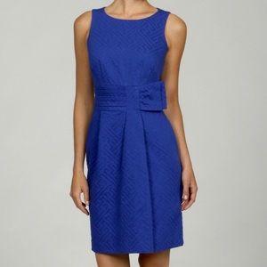 Taylor Pleated Jacquard Dress Size 4–B5